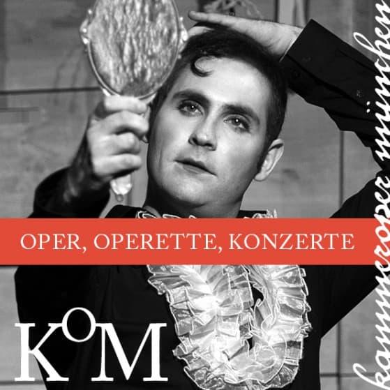 Kammeroper München Oper Operette Konzerte