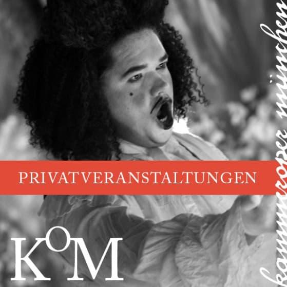 Kammeroper München Privatveranstaltungen