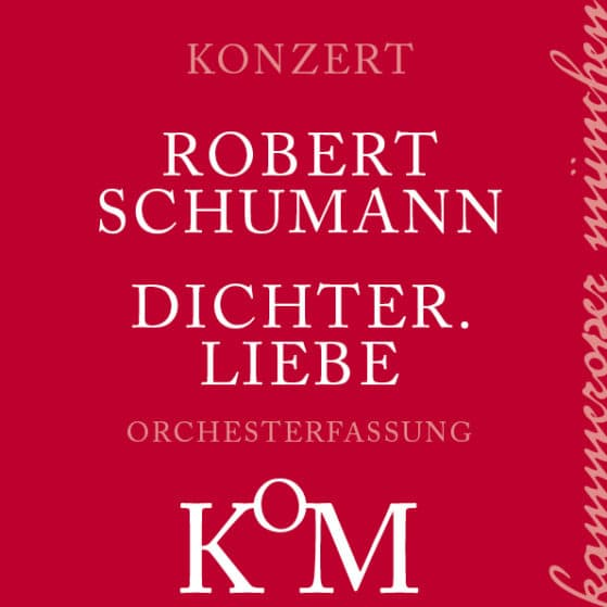 buy elegant shoes great deals 2017 DICHTER.LIEBE (R. Schumann) | Kammeroper München